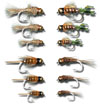 BH Nymph Assortment - 12 Flies