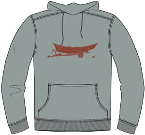 <font color=red>On Sale - Clearance</font><br>Simms Drift Hoody - Granite