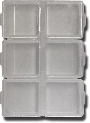 6 Compartment Slim Pocket Fly Box