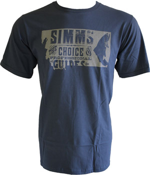 <font color=red>On Sale - Clearance</font><br>Simms Anglers Choice T-Shirt - SS - River