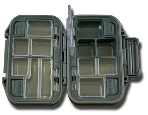 Waterproof 12 Compartment Pocket Fly Box