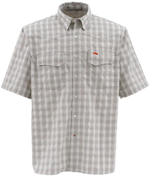 <font color=red>On Sale - Clearance</font><br>Simms Big Sky SS Shirt - Boulder Plaid
